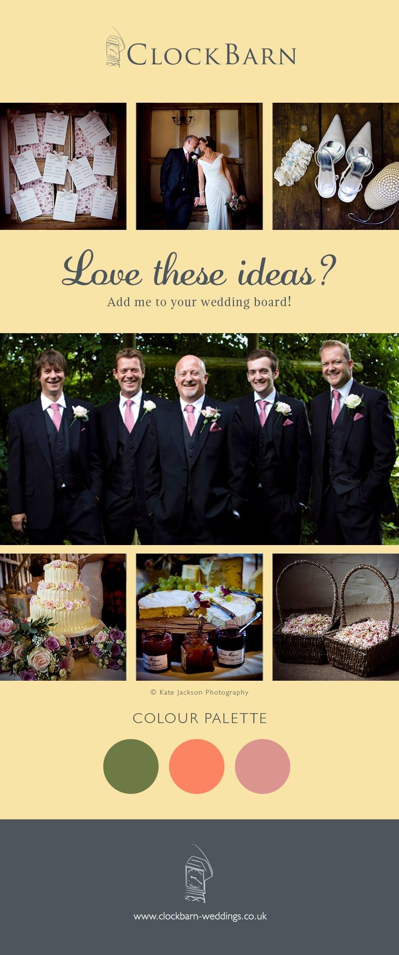 Alex and Dans clock barn wedding