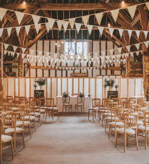 Stylish interior at Clock Barn © Tom Halliday Photography