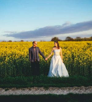 Wedding couple at Clock Barn © New Forest Studio