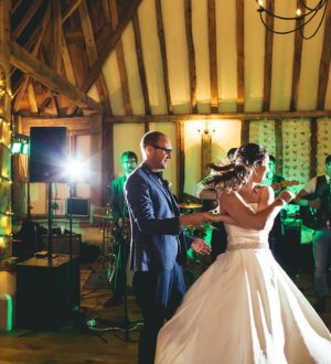 The first dance at Clock Barn © New Forest Studio