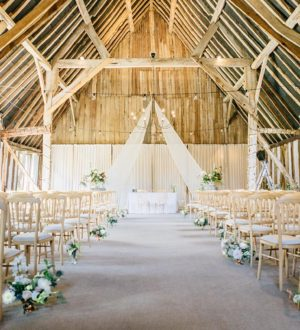 Ready for the ceremony at Clock Barn © Jacob and Pauline Photography
