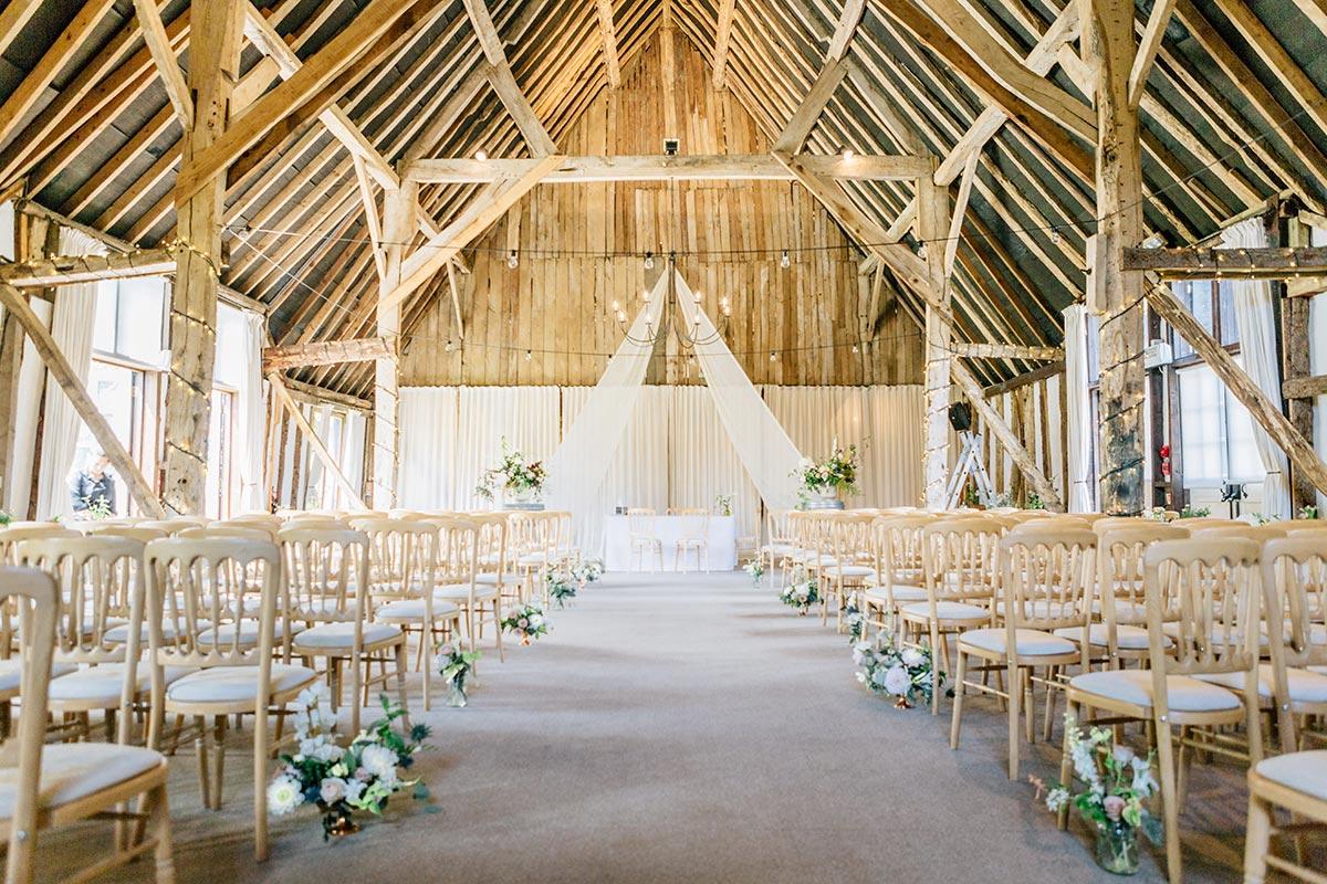 Clock Barn Gallery | Rustic wedding venue Hampshire