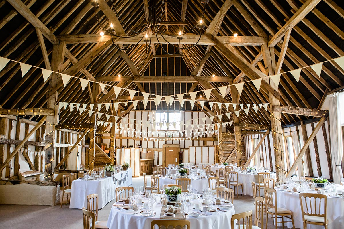 Rustic Wedding Venue Hampshire