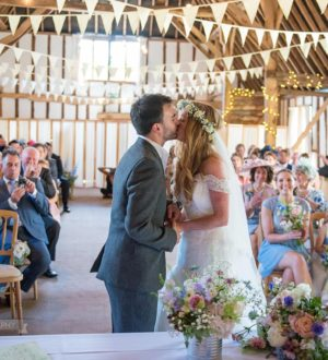 Just married at Clock Barn © Mia Photography