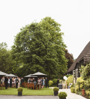 Celebrations in the outdoor space © Jackson & Co Photography