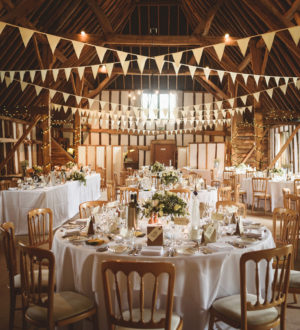 The tables and chairs at Clock Barn © Jackson & Co Photography