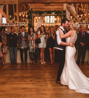 Bride and groom on their first dance © Jackson & Co Photography