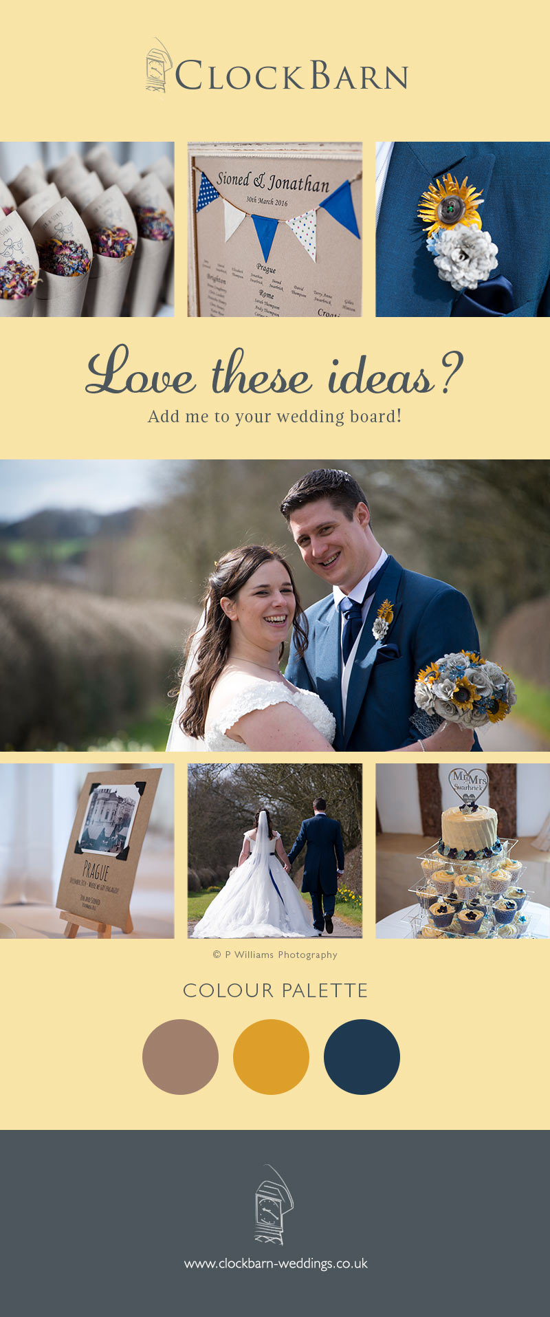 Sioned and Jonathan Clock Barn
