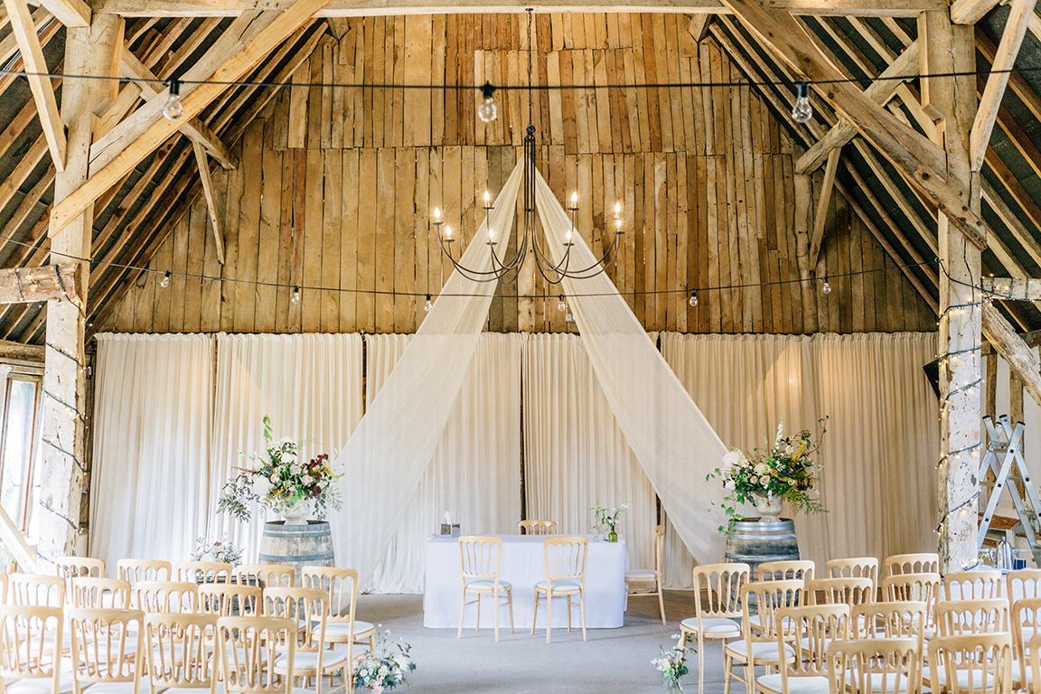 Spring Wedding Ideas Ceremony Decorations By Clock Barn