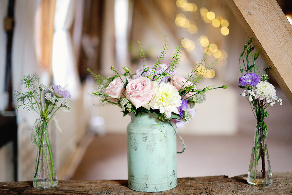 Big Arrangements In Rustic Containers Such As Oversized Milk Churns Or Stand Your Displays On Wooden Crates