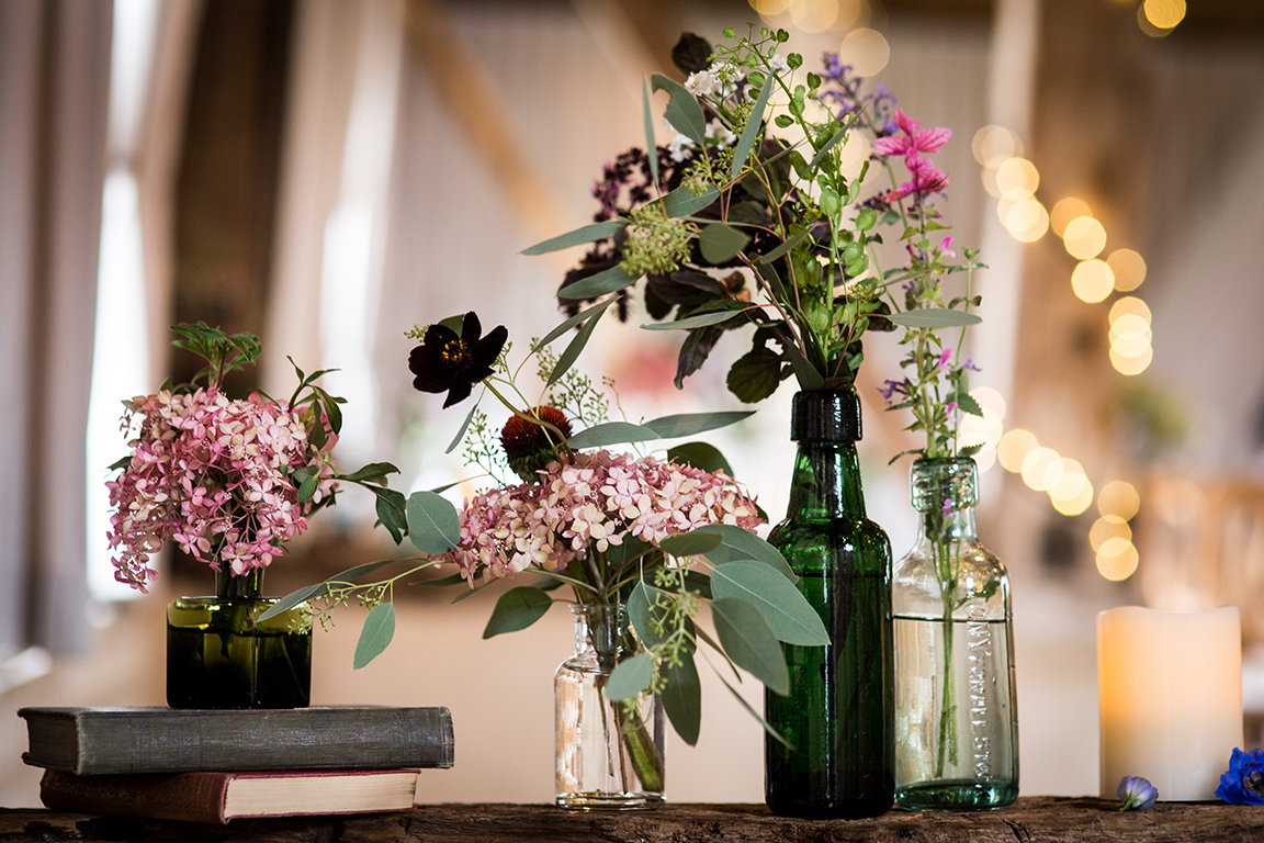 Spring Wedding Ceremony Decoration Ideas at Clock Barn