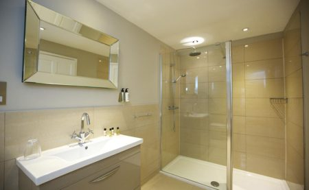 Lavender Barn Bathroom