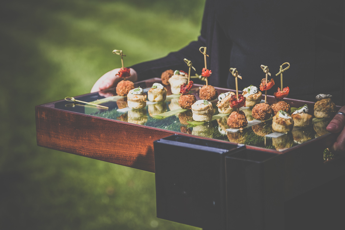Galloping Gourmet canapes for you guests