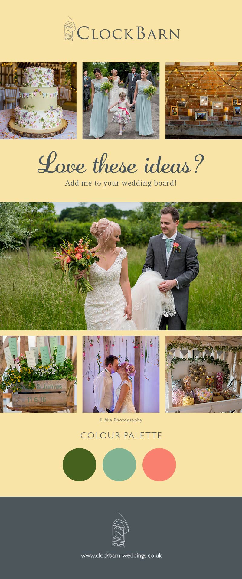 Jade and James real life wedding at Clock Barn in Hampshire