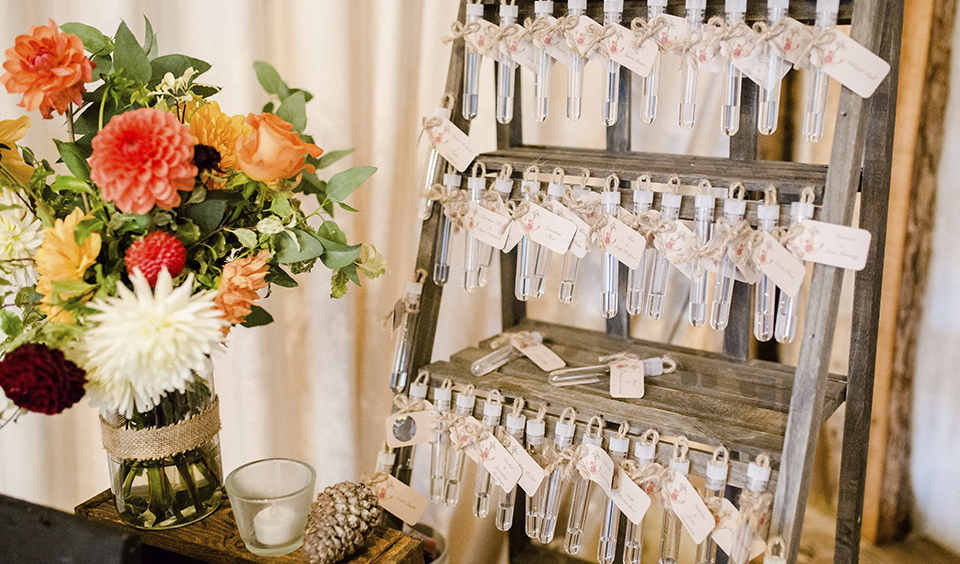 Take Guests Back To School With A Ph Testing Wedding Table Plan