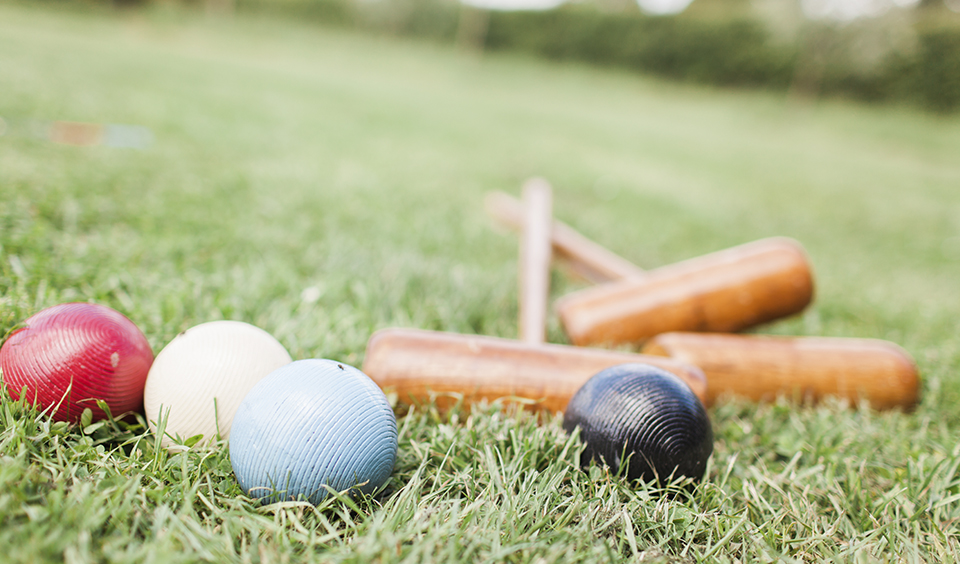 Make the most of the outdoor space at Clock Barn and enjoy a variety of garden games