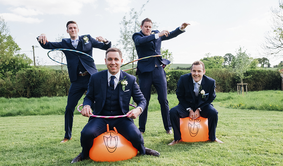 Let the adults bring out their inner child with some retro space hoppers – outdoor wedding games