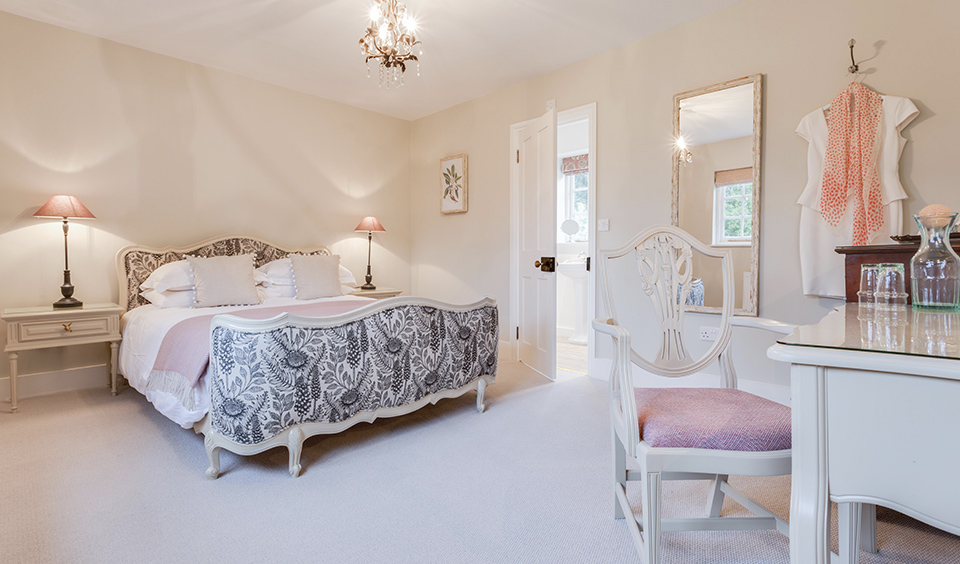 Beautiful decorated clean and comfortable guests will enjoy the stunning bedrooms in the Farmhouse wedding accommodation