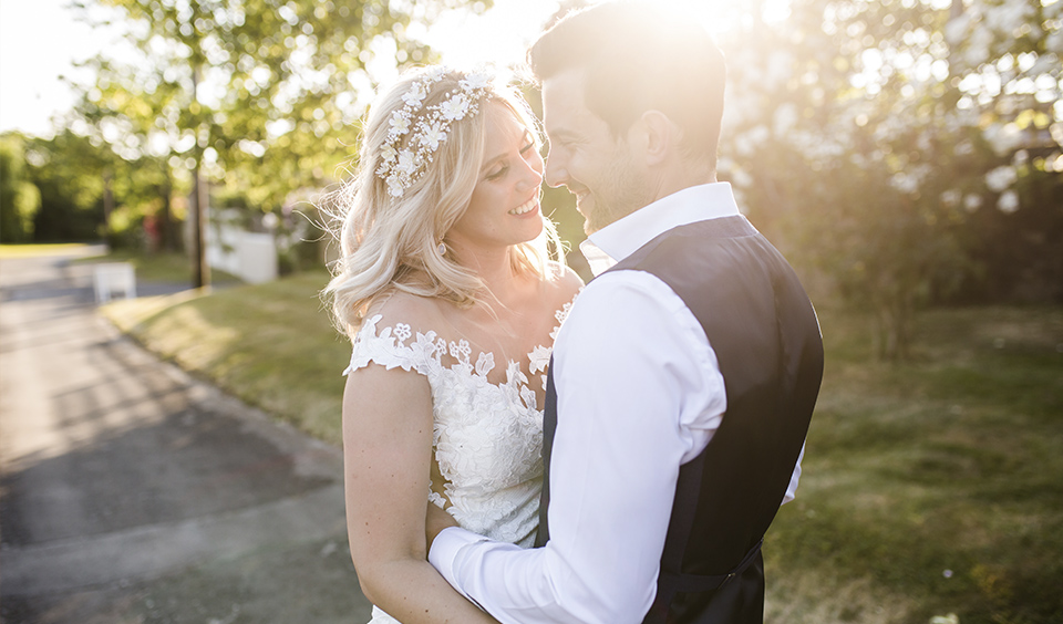 Naturally captured moments create the most romantic wedding photos at your Clock Barn wedding Hampshire